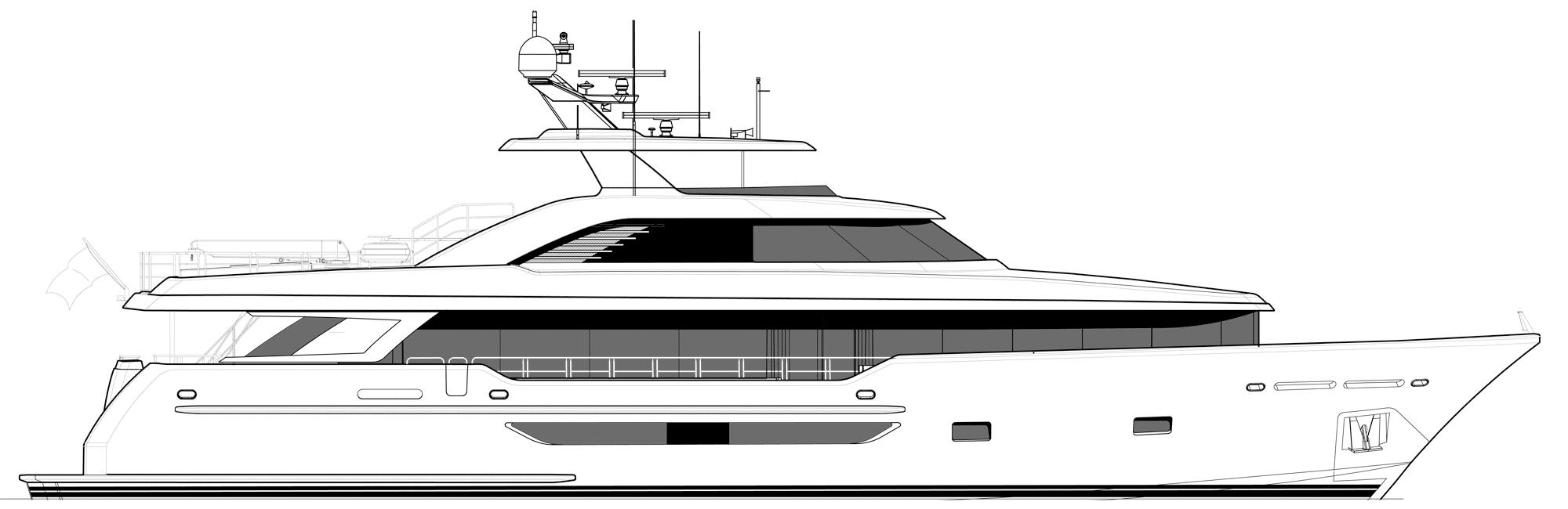 Westport W117 - 35m   Profile