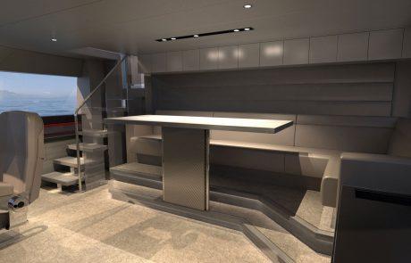 Westport W117   35M - Pilothouse Seating