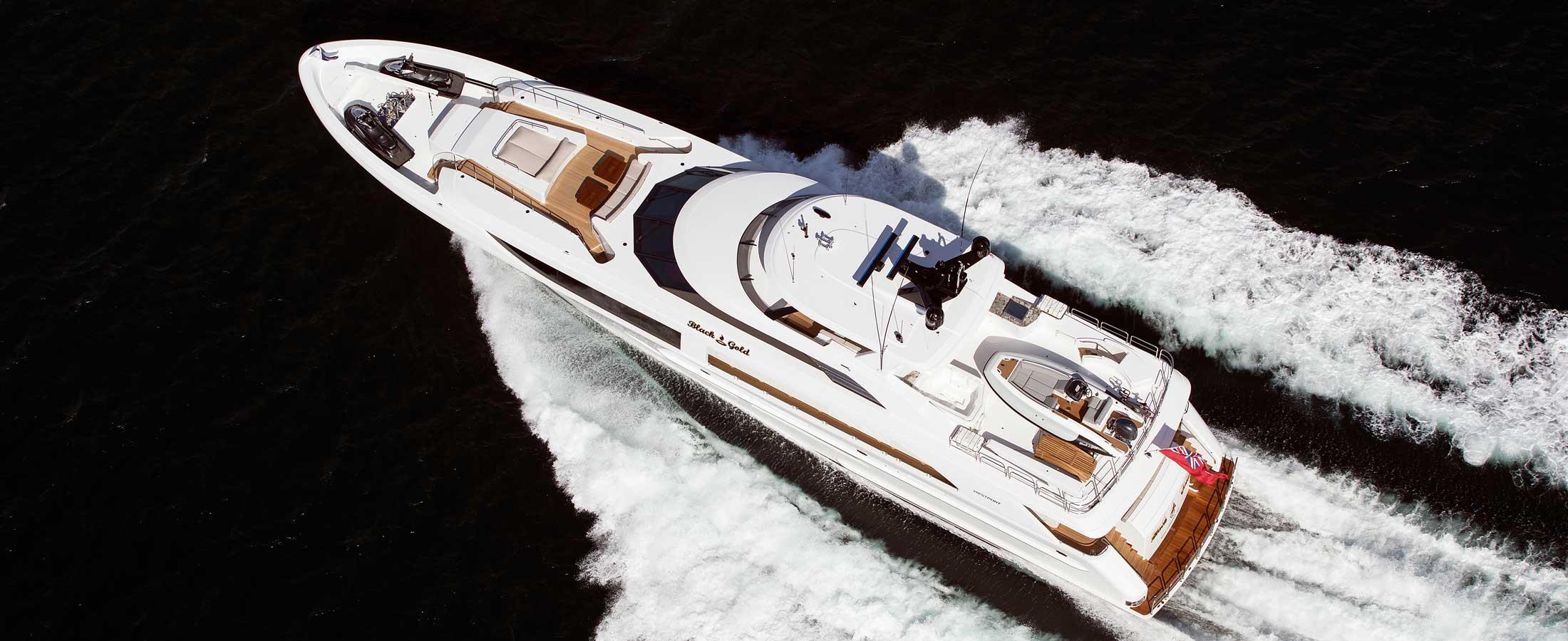 New Yacht Construction - Westport Yachts