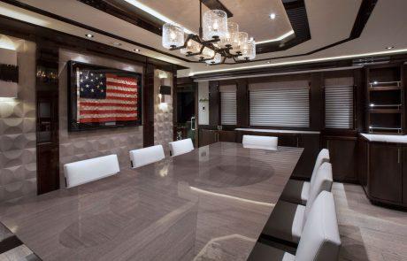 Westport W130 - 40m   Tri-Deck Motor Yacht   Dining
