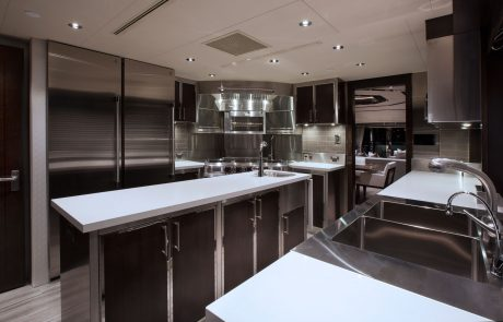 Westport W130 - 40m   Tri-Deck   Galley