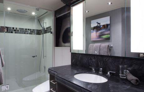 Westport W130 - 40m   Tri-Deck   Guest Stateroom   Guest Head
