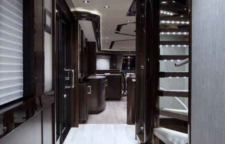 Westport W130 - 40m   Tri-Deck Motor Yacht   Hallway