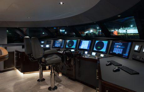 Westport W130 - 40m   Tri-Deck   Pilothouse Helm