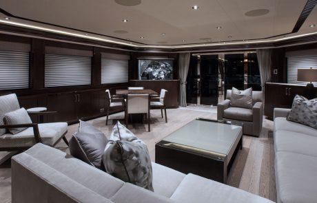 Westport W130 - 40m   Tri-Deck Motor Yacht   Salon
