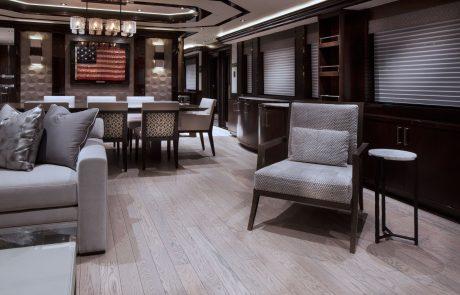 Westport W130 - 40m   Tri-Deck   Salon