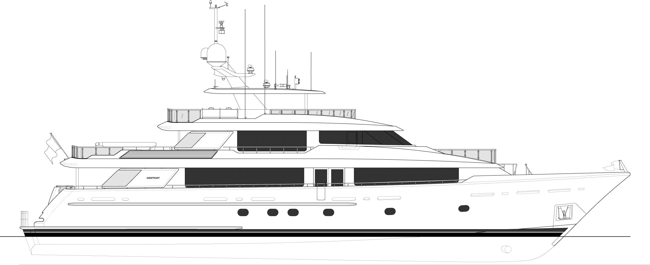 Westport W130 - 40m   Profile