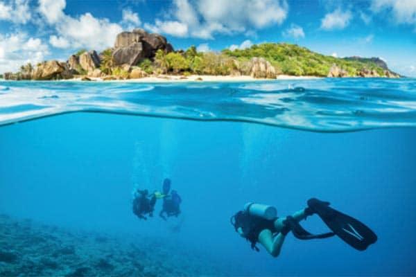 Indian Ocean Eden Island Marina