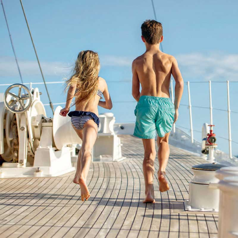 Joy of Chartering | Westport Yachts Charter Guide