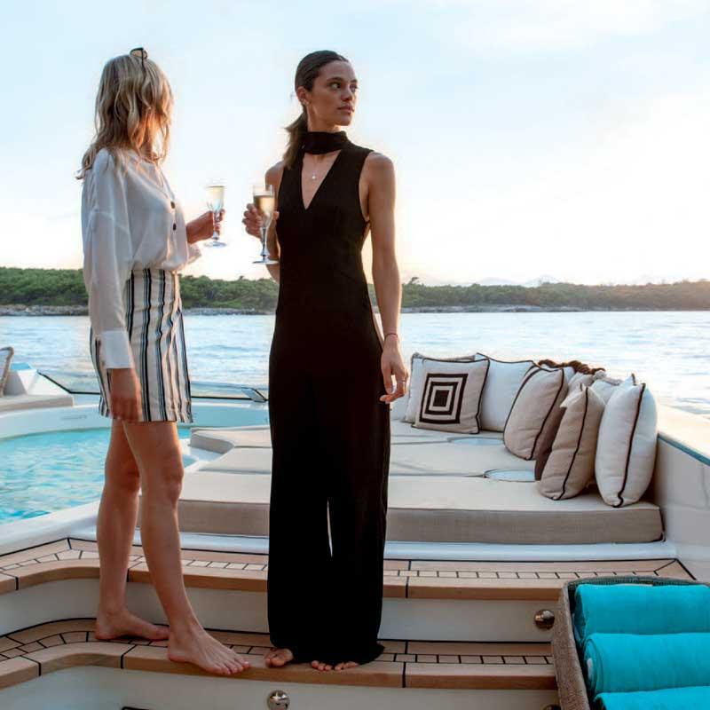 Joy of Chartering II   Westport Yachts Charter Guide