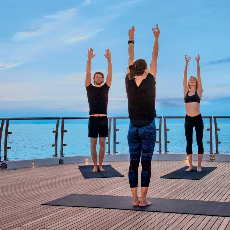 Wellness Charters - Health & Fitness   Westport Yacht Charter Guide