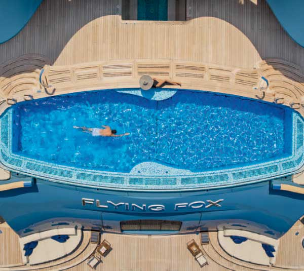 Wellness Charters - Health & Fitness   Westport Yachts Charter Guide