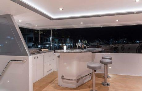 Westport W112   34m Raised Pilothouse   Flybridge Bar