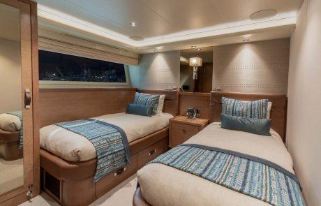 Westport W112   34m Raised Pilothouse   Starboard Stateroom