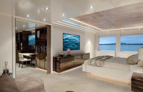 Westport W172   52m Tri-Deck - Master Stateroom