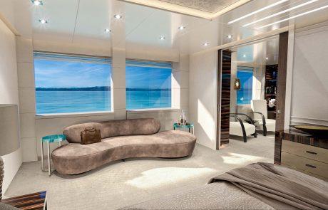 Westport W172   52m Tri-Deck - Master Stateroom - Lounge