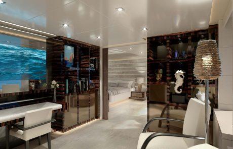 Westport W172   52m Tri-Deck - Master Stateroom - Office