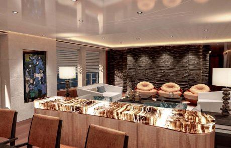 Westport W172   52m Tri-Deck - Salon