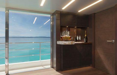 Westport W172   52m Tri-Deck - Upper Deck Skylounge
